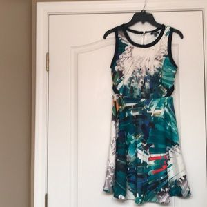 Xoxo geometric abstract  style cocktail dress